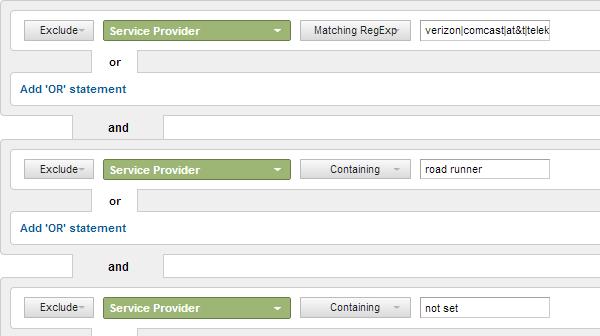 Bộ lọc giúp điều tra hoạt động website từ các traffic không tự nhiên